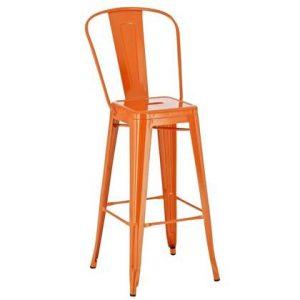 Barkruk 24Designs Oranje