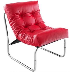 Fauteuil 24Designs Rood