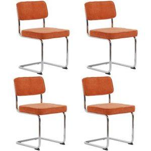 Eetkamerstoel 24Designs Oranje