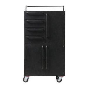 Lockerkast BePureHome Zwart