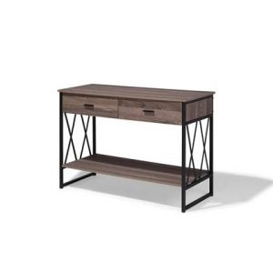 Sidetable Beliani Grijs