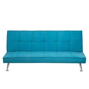 Slaapbank Beliani Blauw