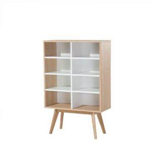 Boekenkast Beliani Wit