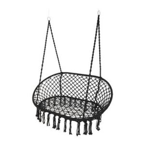 Hangstoel Garden Furniture Zwart