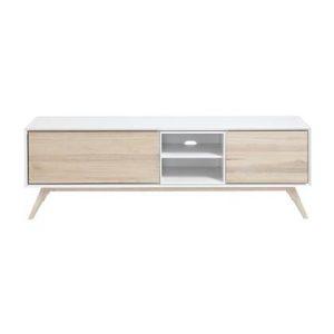 Tv-meubel Kave Home Wit