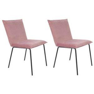 Eetkamerstoel 24Designs Roze