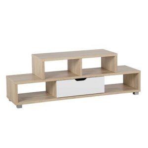 Tv-meubel Beliani Wit