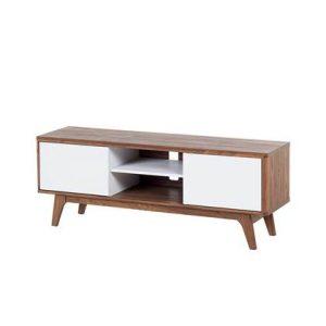 Tv-meubel Beliani Bruin