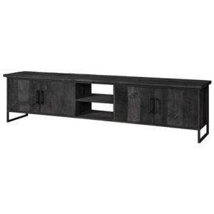 Tv-meubel 24Designs Zwart