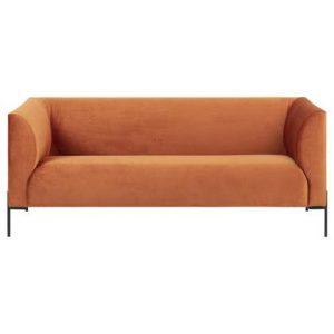 2-zitsbank 24Designs Oranje