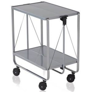Trolley Leifheit Zilver